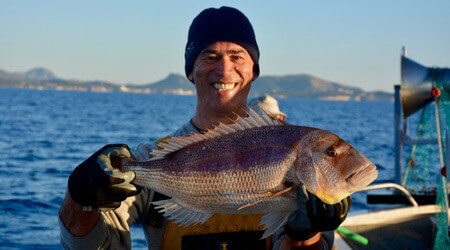 Let's go fishing with Fishingtrip Menorca